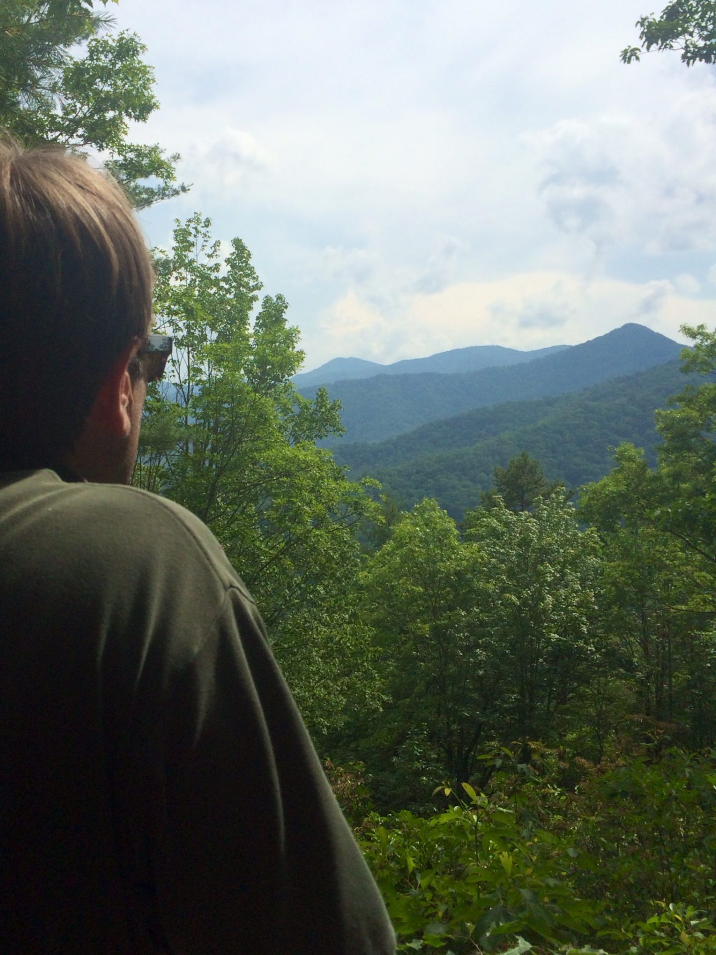 gary in mountains